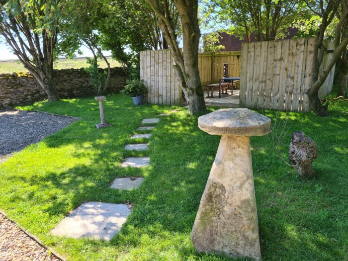 Garden at Marrick Moor House Cottage