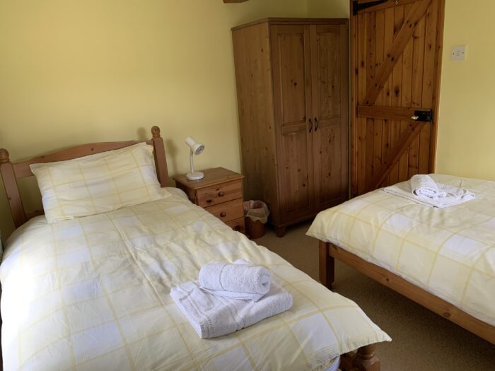 Twin bedroom, Copley House