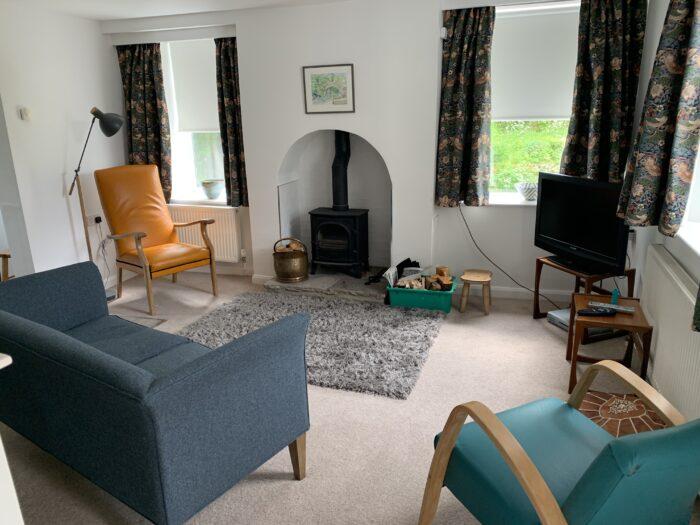 Open plan living area Copley House, Langthwaite
